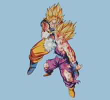 Father-Son Kamehameha by ginabelluni
