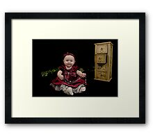 What a doll Framed Print
