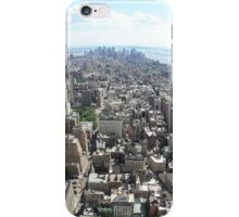 Manhattan from Empire state Building iPhone Case/Skin