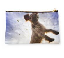 Brown Roan Italian Spinone in Action Studio Pouch