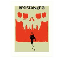 Resistance 3 Capelli Walks Art Print