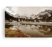 Incoming Storm, Long Lake Canvas Print
