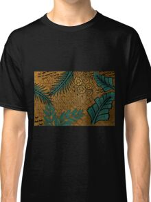 Zentangle Gold and Green Classic T-Shirt