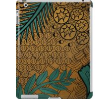 Zentangle Gold and Green iPad Case/Skin