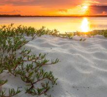 Bribie Island Sundown - Qld Australia Sticker
