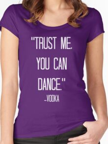 vodka love relative Women's Fitted Scoop T-Shirt