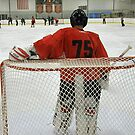 Study of a Goalie - Taking 5  by AuntieJ
