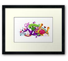 Get Lucky  Framed Print
