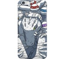TMNT in the box iPhone Case/Skin