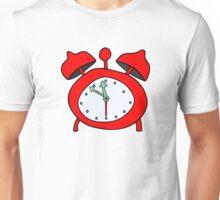 red alarmclock Unisex T-Shirt