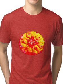 Psychedelic Solar Peyote Journey Tri-blend T-Shirt