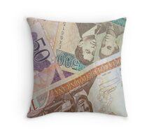 Just Money Throw Pillow