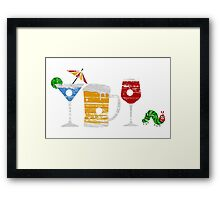 The Very Thirsty Caterpillar Framed Print