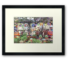 Day of the Dead. Disneyland Framed Print