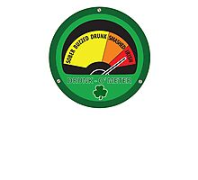 Drunk o meter Photographic Print