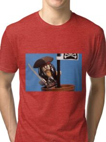 Lego Captain Jack Sparrow Tri-blend T-Shirt