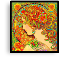 'A Mucha Fantasy' or 'Much Mucha' Canvas Print