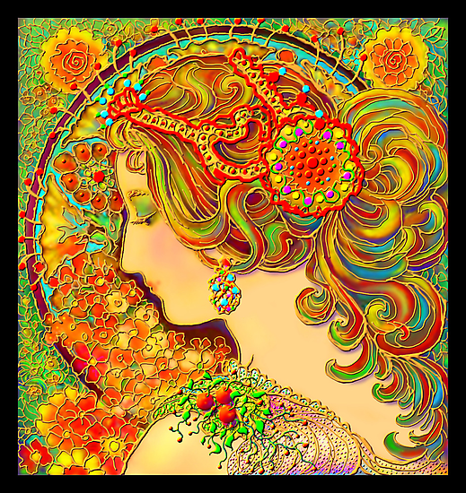 'A Mucha Fantasy' or 'Much Mucha' by luvapples downunder/ Norval Arbogast