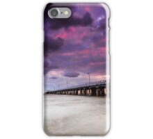 The Shorncliffe Pier Qld Australia iPhone Case/Skin