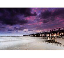 The Shorncliffe Pier Qld Australia Photographic Print