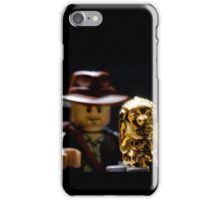 Indy and the Chachapoyan Fertility Idol iPhone Case/Skin