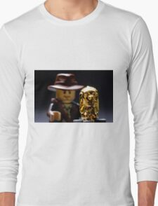 Indy and the Chachapoyan Fertility Idol Long Sleeve T-Shirt