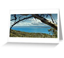 Great Oyster Bay, Freycinet National Park, Tasmania Greeting Card