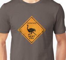 Ostriches! Unisex T-Shirt