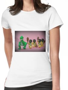Run Rex! Womens Fitted T-Shirt