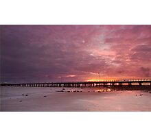 Shorncliffe Sunrise - Qld Australia Photographic Print