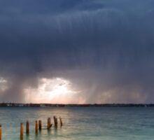 Summer Storm - Cleveland Qld Australia Sticker