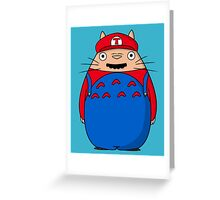 Super Toto Bros Greeting Card