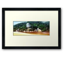 Whale Rock, Wilsons Promontory Framed Print