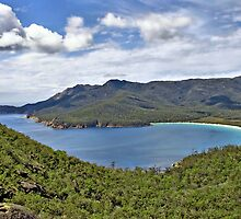 Wineglass Bay, Freycinet National Park, Tasmania by Darren Greenwell