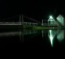 Swing Bridge by Dale Frank