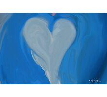 A Heart for Haiti  Photographic Print