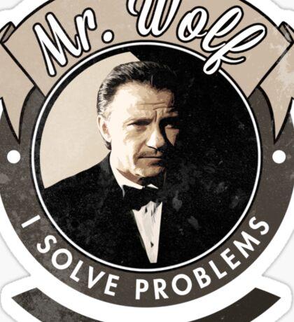 Mr. Wolf Sticker