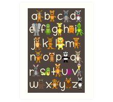 ABC Chart Art Print