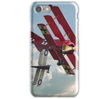 WW1 - Fokker Dr1 - 'One on One' iPhone Case/Skin