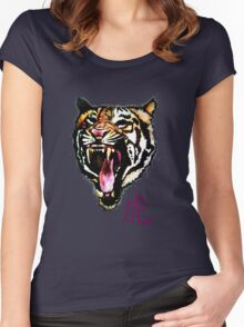 Year of the Tiger - T-Shirt & Sticker Women's Fitted Scoop T-Shirt