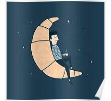 Ze Croissant Moon Poster