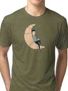 Ze Croissant Moon Tri-blend T-Shirt