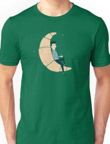 Ze Croissant Moon Unisex T-Shirt