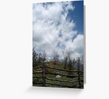 Cloud Cover, China Greeting Card