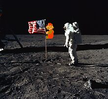 Super Mario On the Moon by Simon Alenius