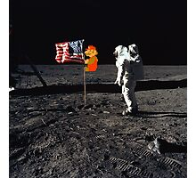 Super Mario On the Moon Photographic Print