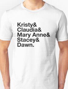 Experimental Dibblyset (Baby-sitter's Club) Unisex T-Shirt