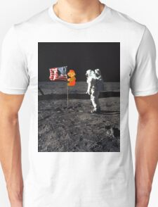 Super Mario On the Moon T-Shirt