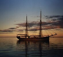 The Failie, training sailing ship, South Australia by BronReid