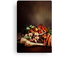 ~ Still Life with Vegetables ~ Canvas Print